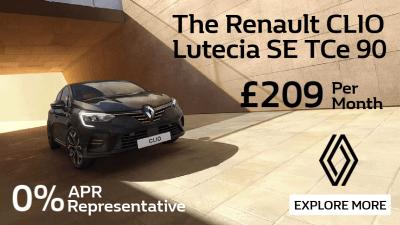 Renault Clio Lutecia SE TCe 90 Offer