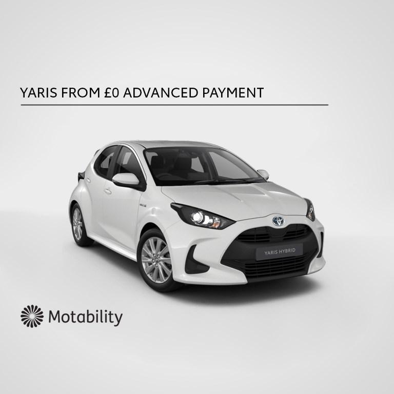 Yaris Motability Offer