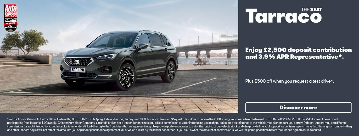 SEAT Tarraco with offer