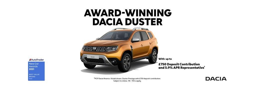 All New Award Winning Dacia Duster