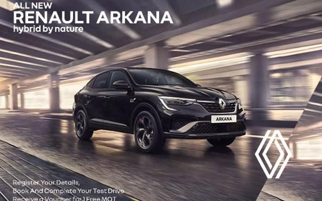 Renault Arkana Offer
