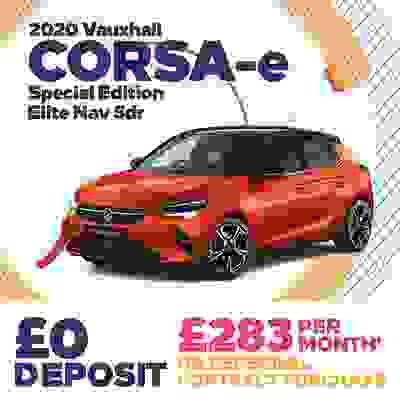 Limited Availability Corsa-e