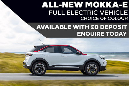 All-New Electric Vauxhall Mokka-E - £389 A Month With £0 Deposit - PCP