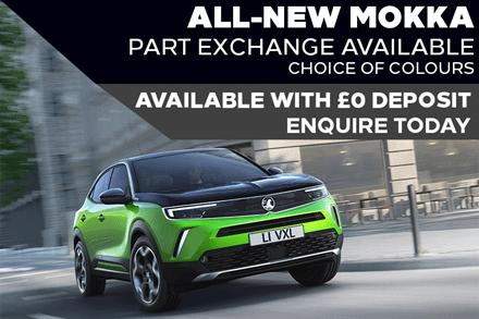 All-New Vauxhall Mokka - £275 A Month   £0 Deposit - PCP