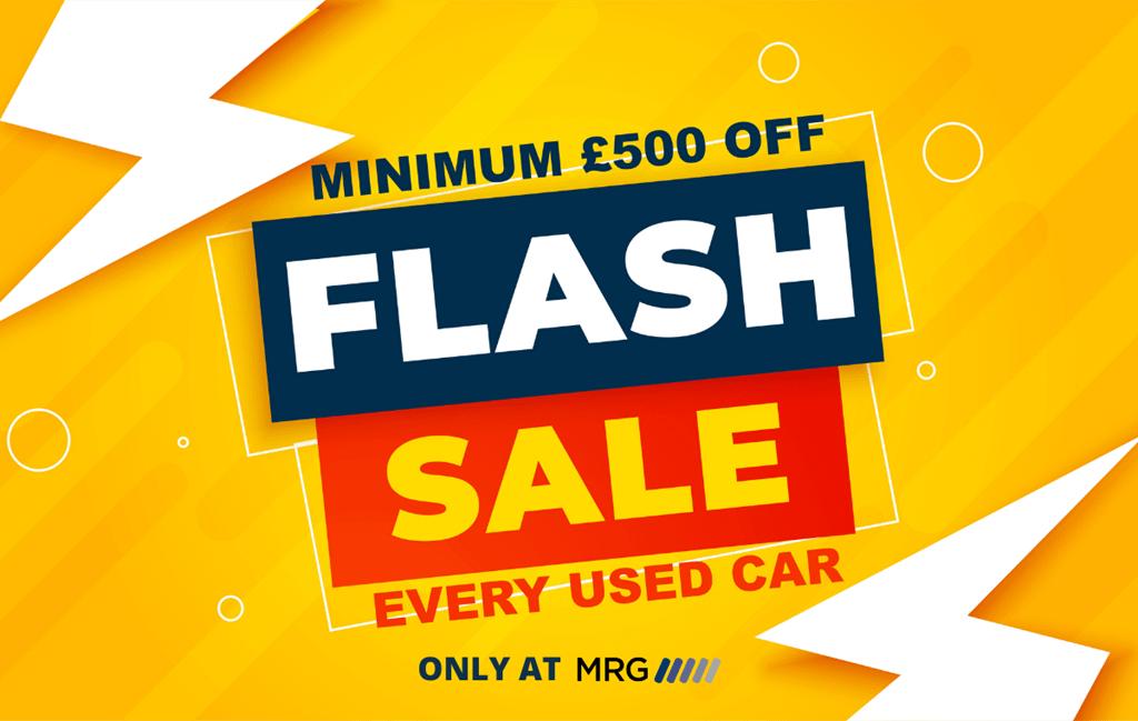 MRG Chippenham Flash Sale. £500 off every used car