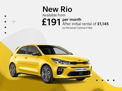 New Kia Rio Latest Offers