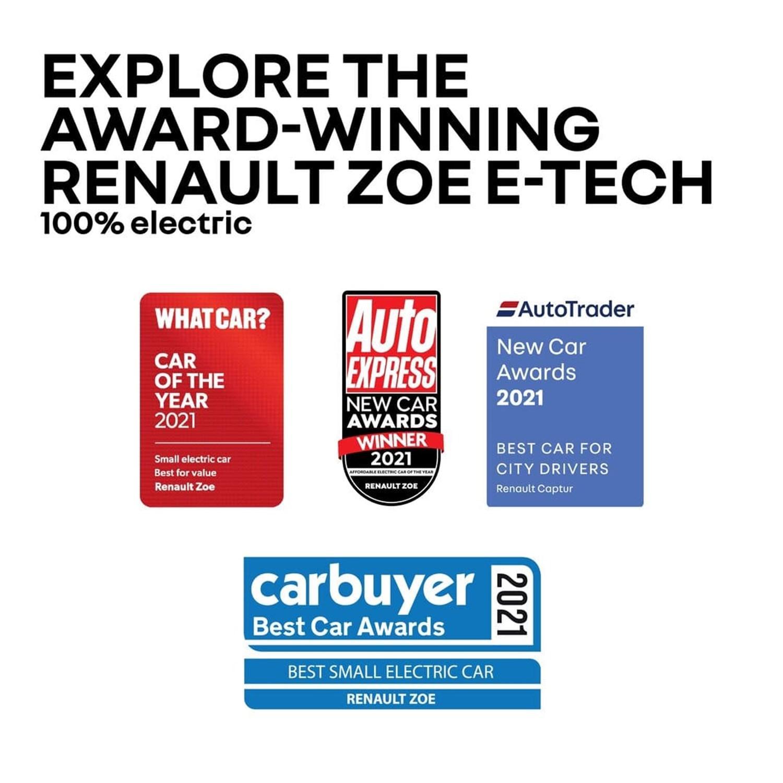 Renault Zoe Awards