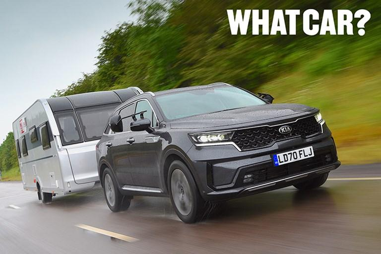 SORENTO OUTRIGHT CHAMPION OF THE WHAT CAR? TOW CAR AWARDS 2021